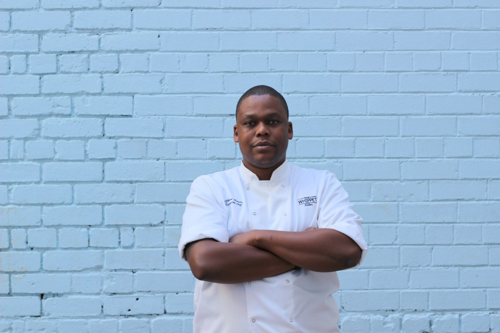 Co-owner and executive chef at the Whippet