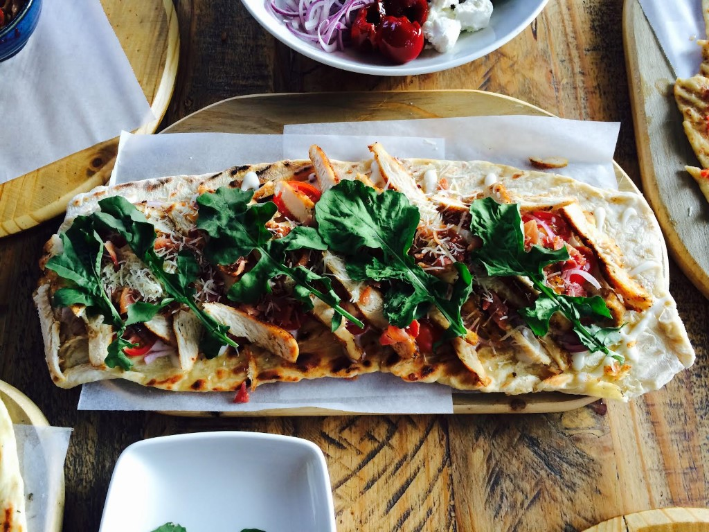 Flat bread from the Whippet - Photo by Ofentse Morake