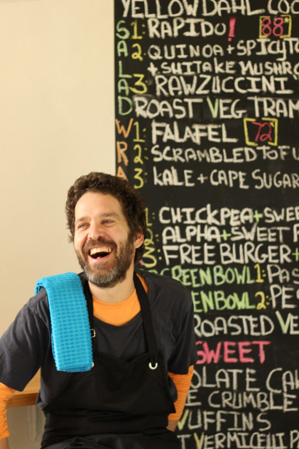 Ariel Cohen - Chef and owner of Free Food*